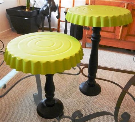 images  upcycled trays stands  pinterest rock star cakes pedestal