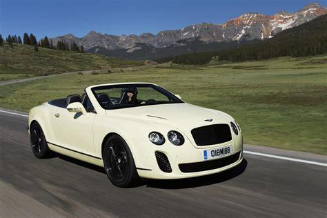 Bentley Continental Supersports Cabrio Afbeeldingen