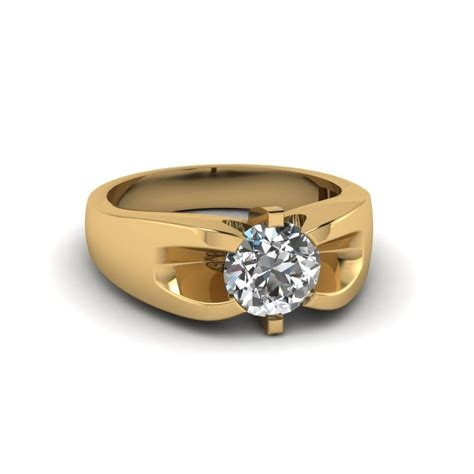 15 best collection of yellow gold mens wedding rings