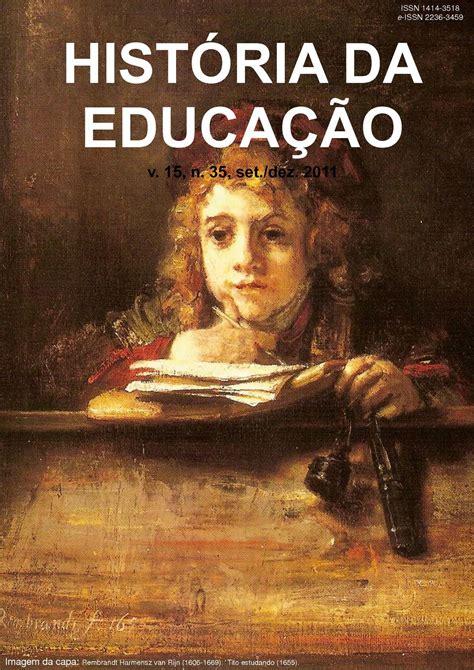 Calaméo - História da Educação - RHE - n. 35
