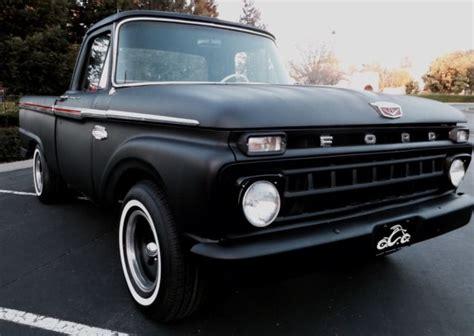 ford   standard cab pickup  black  sale