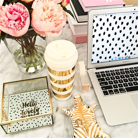 pink and gold desk accessories reviews and weekly stylish petite