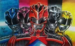 Drawing Power Rangers 2017