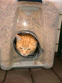 outdoor cat house for winter the best cats how to make a winter shelter for an