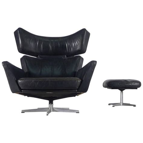 ox chair arne jacobsen arne jacobsen ox and ottoman for sale at 1stdibs