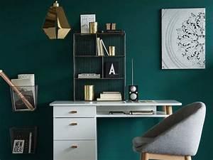 inspirations deco en vert fonce joli place With couleur tendance peinture salon 13 inspirations deco en vert fonce joli place