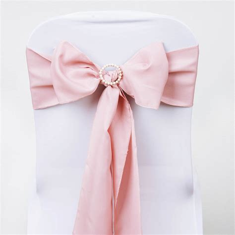 5 pk new polyester chair sash bow wedding banquet 15 colors ebay