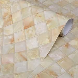 Thick Kitchen Backsplash Decorative Film Self Adhesive ...