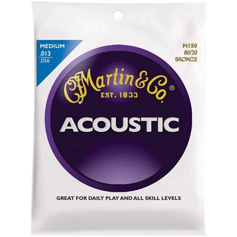 martin acoustic 80 20 bronze guitar strings m150 b h photo