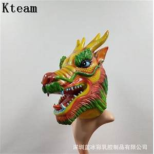2018, New, Realistic, Adult, Full, Head, Animal, Halloween, Party, Costume, Latex, Dragon, Mask, Scary, Funny
