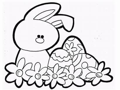Easter Coloring Pages Happy Printable Youngsters Toddlers