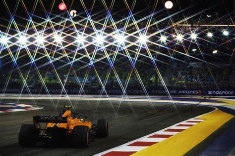 mclaren formula   singapore grand prix  practice