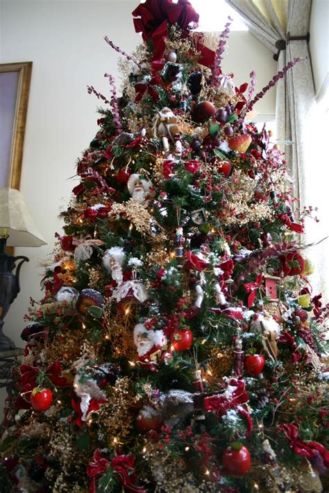 54 best old fashion christmas trees and things images on