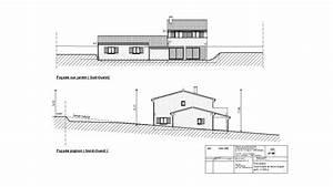 une maison neuve en lisiere dun village bruno geli With exemple de jardin de maison 11 dossier de permis de construire