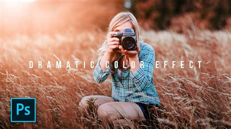 edit foto dramatic color effect photoshop photoshop