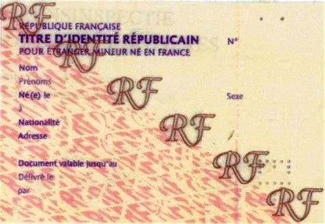 Renouvellement Titre De Sejour Parent D Un Français by