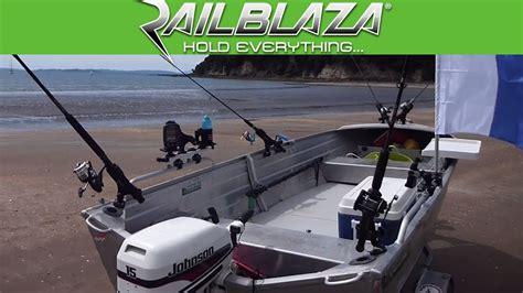Custom Fishing Boat Accessories by Fishing Tinny Accessories Mounts From Railblaza