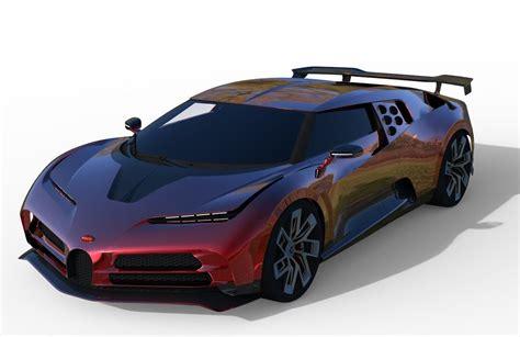 The 2020 bugatti centodieci celebrates a car that has long divided bugattists. Bugatti Centodieci 2020 sports car Low poly 3D model 3