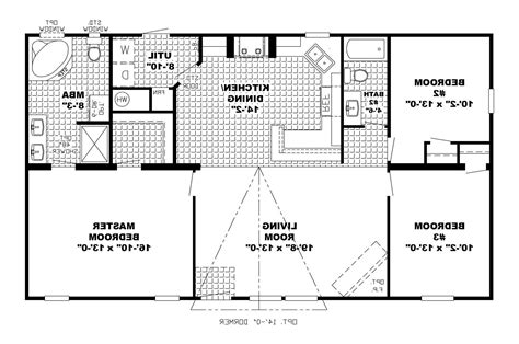 floor plans for build a modular home manufactured house plans open concept