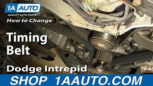 How To Replace Timing Belt Part 1 95