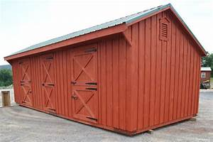 Horse barns amish built modular horse barn virginia va for Barn stalls for sale