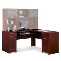 realspace 174 broadstreet contoured u shaped desk 30 quot h x 65