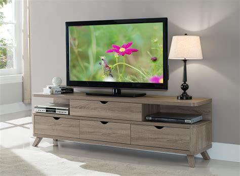 furniture  america morrison open sided shelf light oak