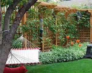 Grillage En Bois : la d coration ext rieure avec un treillis de jardin ~ Edinachiropracticcenter.com Idées de Décoration