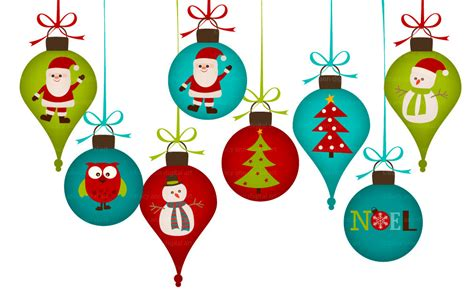 christmas decorations clip art png for by tracyanndigitalart