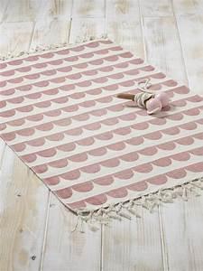 Teppich Kinderzimmer Rosa : teppich grafisches muster baumwolle gelb fischgrat rosa festonborte littleone teppich ~ Yasmunasinghe.com Haus und Dekorationen