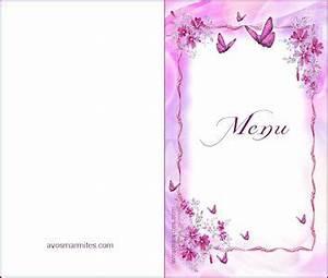 Modele De Menu A Imprimer Gratuit : carte menu restaurant vierge le garde manger ~ Melissatoandfro.com Idées de Décoration