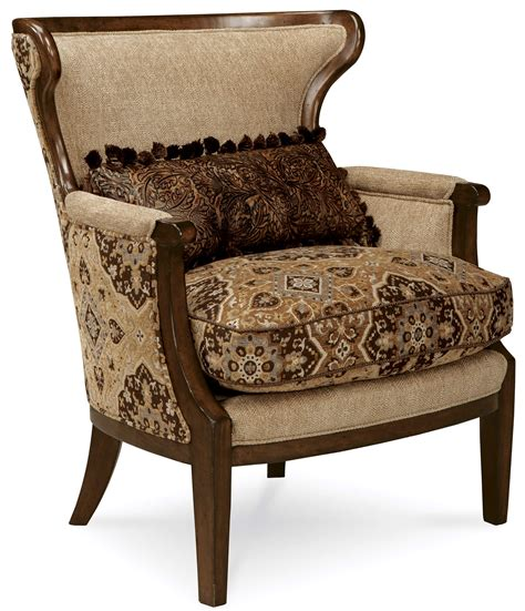 Furniture Trim by A R T Furniture Adele Wood Trim Accent Chair