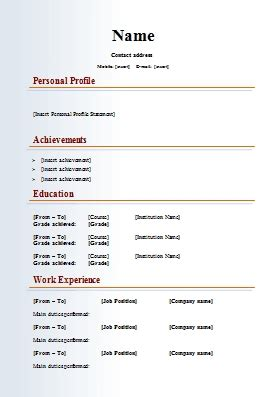 18228 resume template downloads resume format for listmachinepro