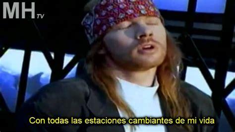 Guns N' Roses Estranged Subtitulado Traducido Español
