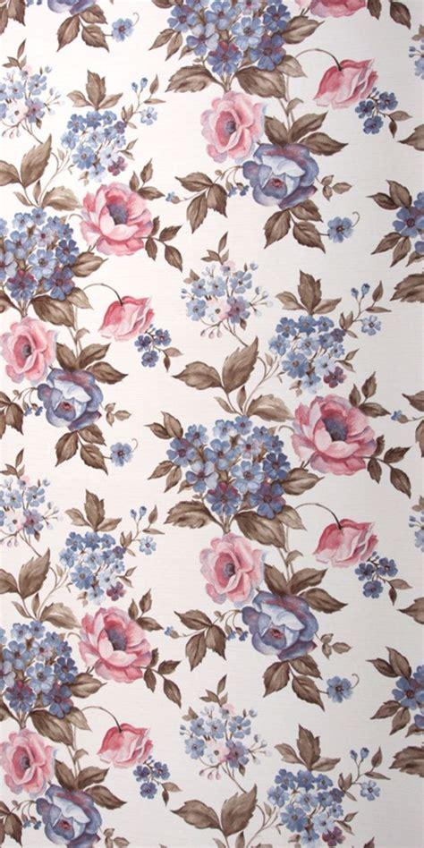 tapete große blumen motiv dieser romantischen vintage tapete sind rosa und