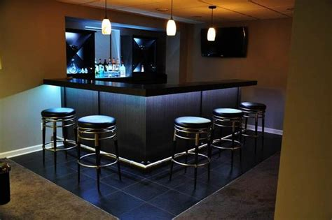 Basement Bar Ideas For Small Spaces-horner H&g