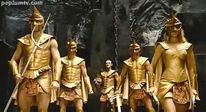 By the Gods! Kellan Lutz as Poseidon (left), Isabel Lucas ...