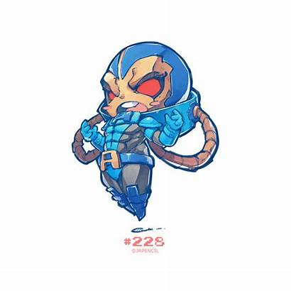 Chibi Marvel Apocalypse Pencil Jr Jrpencil Xmen