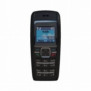 Mobile Phone Nokia 1600 3d