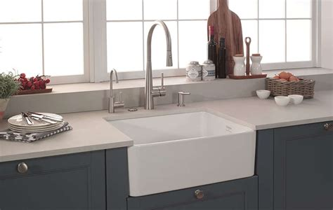 fireclay kitchen sink reviews fireclay kitchen sink review home co 7204