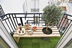 Balcon : idée d'aménagement extérieur, spécial petite surface