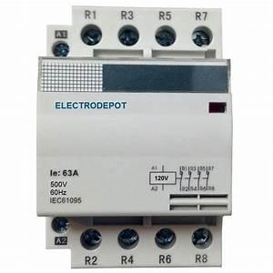 30a 40a 50a Contactors 3  4 Pole  No Nc Lighting Contactor