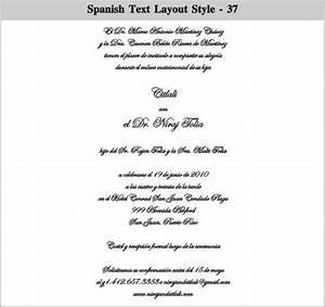 Spanish wedding invitation wording theruntimecom for Wedding sayings for invitations in spanish