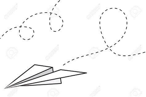 paper airplane clipart black and white paper airplane clipart free clipartxtras