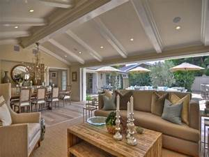 Interior Decoration For Small House  Vaulted Ceilings Open