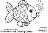 Coloring Rainbow Fish Last Contest Enter Friday Melissa Credit sketch template