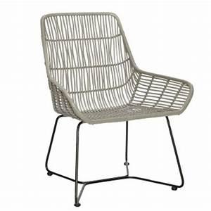 Chaise Rotin Gris : fauteuils design colonel shop colonel ~ Teatrodelosmanantiales.com Idées de Décoration