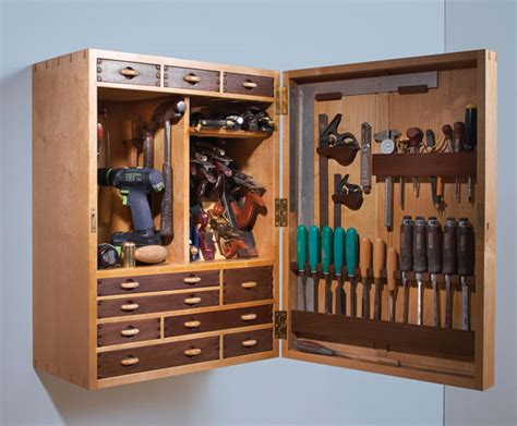 Wooden Tool Storage Cabinet Plans by Cabinetmaker S Tool Chest Popular Woodworking Magazine