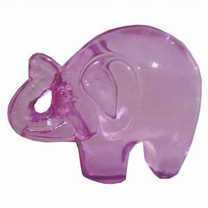 Elephant Porte Bonheur : petit l phant porte bonheur verre rose ~ Melissatoandfro.com Idées de Décoration
