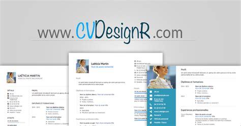 Cv Exemplaires by Cr 233 Er Mon Cv Design Outil Cr 233 Ation Cv Pdf Gratuit Cv
